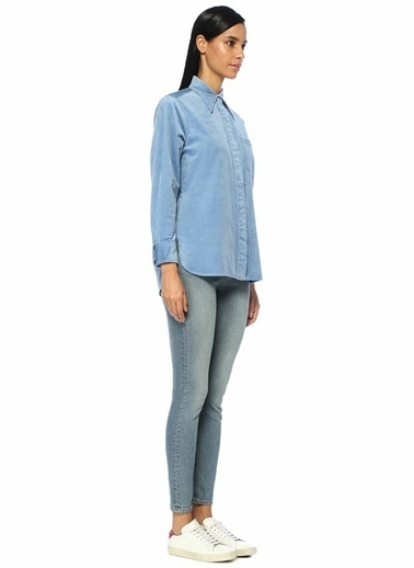 Mo&Co Gömlek Mavi